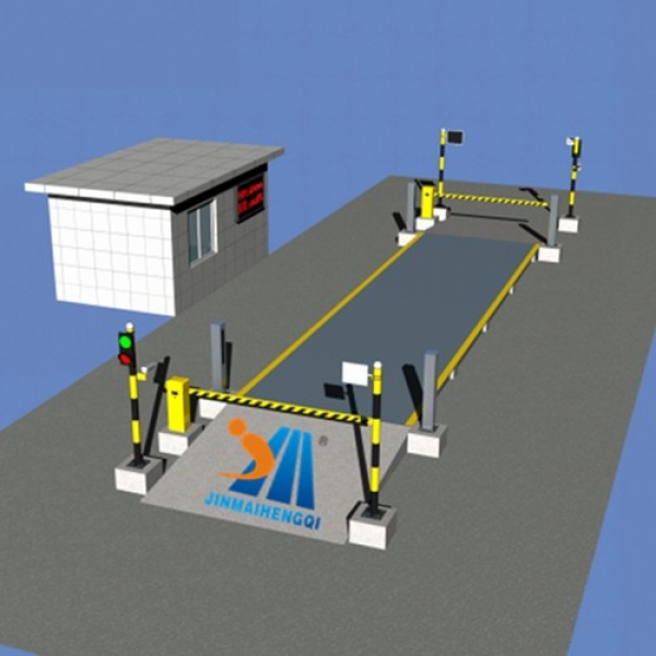Unmanned Truck Scale/Weighbridge System