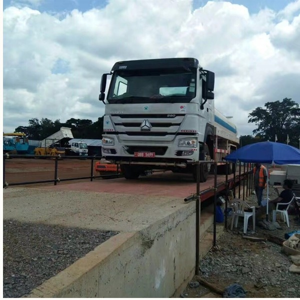 Weighbridge in Angola